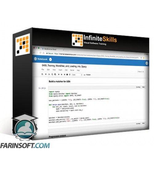 آموزش Infinite Skills OReilly Learning Paths Mastering SpaCy for Natural Language Processing