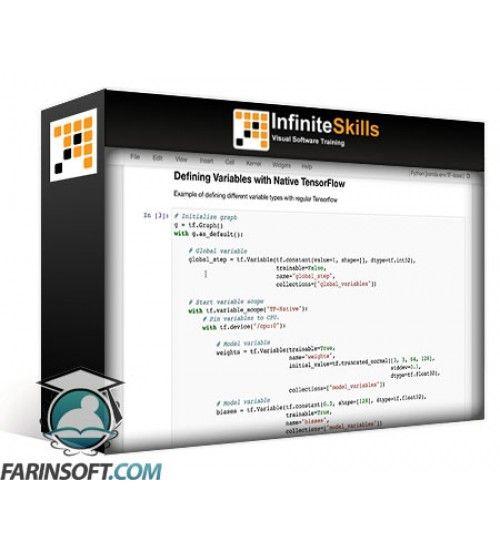 آموزش Infinite Skills Introduction to TensorFlow-Slim