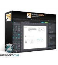 آموزش Infinite Skills OReilly Prototyping with Justinmind Prototyper