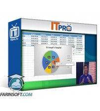 آموزش IT Pro TV Excel 2016 - Level 1 Spreadsheet Application