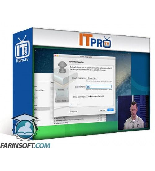 آموزش IT Pro TV NetInstall and NetRestore for Mac