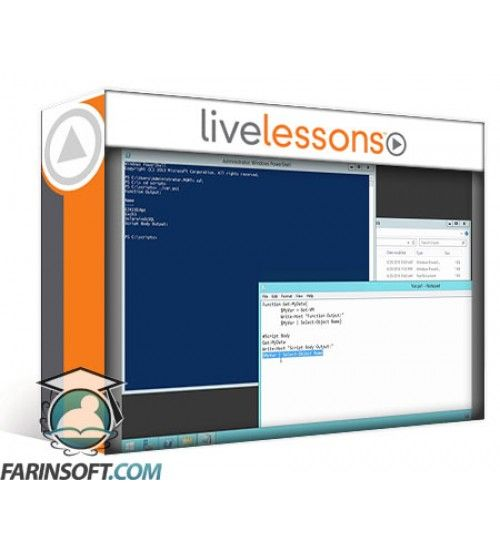 آموزش Live Lessons Practical Windows PowerShell Scripting LiveLessons