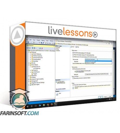 آموزش LiveLessons SQL Server 2012 Fundamentals for the Accidental DBA: A Guide to SQL Server for Developers and Systems Administrators