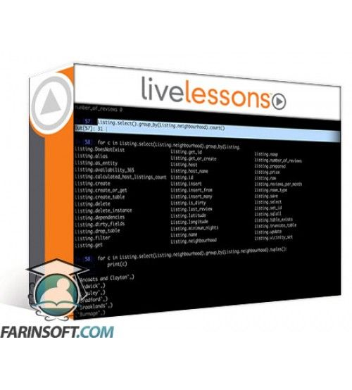 آموزش LiveLessons Data Science Fundamentals Part 1: Learning Basic Concepts – Data Wrangling – and Databases with Python