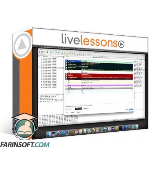 دانلود آموزش LiveLessons Wireshark Fundamentals