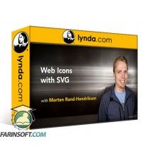 دانلود آموزش Lynda Web Icons with SVG