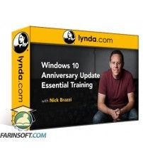 آموزش Lynda Windows 10 Anniversary Update Essential Training