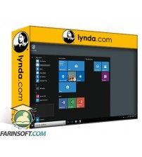 آموزش Lynda Windows 10 Anniversary Update New Features