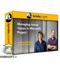 آموزش Lynda Managing Actual Values in Microsoft Project