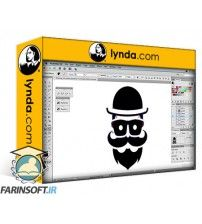 دانلود آموزش Lynda Foundations of Logo Design: Illustrating Logo Marks