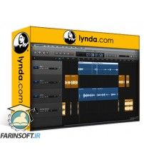 دانلود آموزش Lynda Podcasting with GarageBand