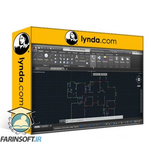 آموزش Lynda AutoCAD Facilities Management: Areas