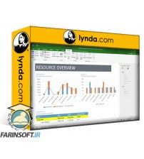 آموزش Lynda Mastering Microsoft Project Graphical Reports