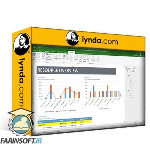 آموزش Lynda Mastering Microsoft Project Graphical Reports
