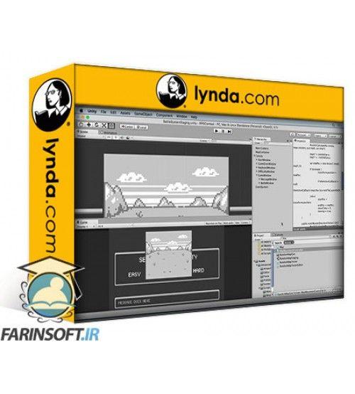 آموزش Lynda Unity 5 2D: Combat in an RPG Game