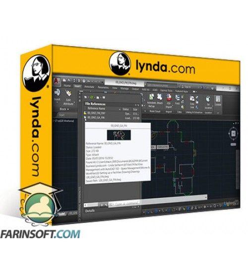 آموزش Lynda AutoCAD Facilities Management: Space Management