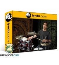 دانلود آموزش Lynda Drum Set Instruction: On The Beaten Path