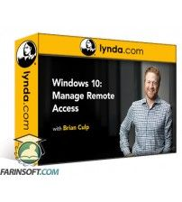دانلود آموزش Lynda Windows 10: Manage Remote Access