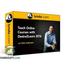 آموزش Lynda Teaching Online with Desire2Learn 2016