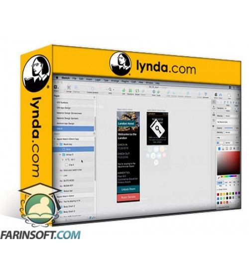 آموزش Lynda UX Design Tools: Sketch