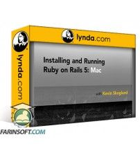 آموزش Lynda Installing and Running Ruby on Rails 5: Mac