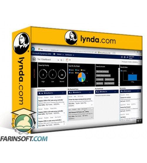 آموزش Lynda Microsoft Dynamics CRM: Customer Service