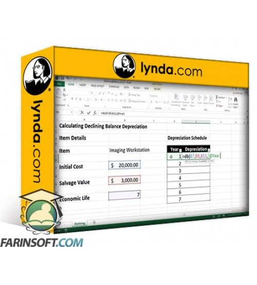 آموزش Lynda Excel 2013: Financial Functions in Depth