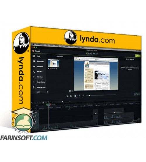 آموزش Lynda Camtasia 3 for Mac Essential Training