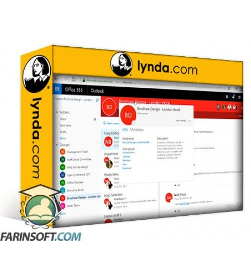 آموزش Lynda Office 365: Groups for Administrators