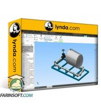 آموزش Lynda Autodesk Inventor Routed Systems: Pipes