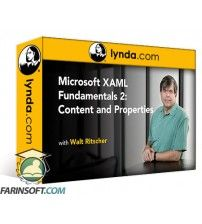 دانلود آموزش Lynda Microsoft XAML Fundamentals 2:  Content and Properties