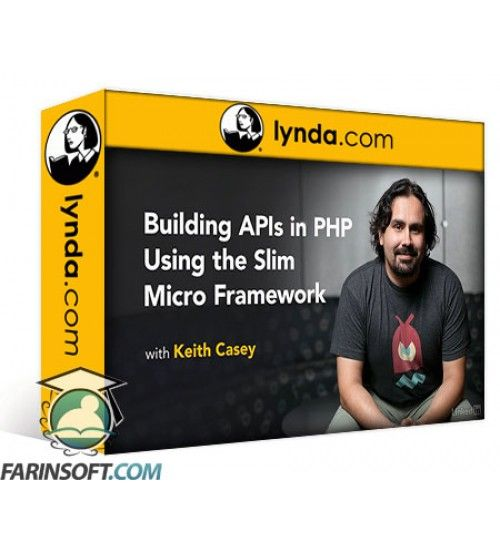 آموزش Lynda Building APIs in PHP Using the Slim Micro Framework
