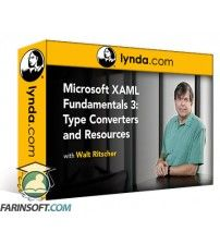 دانلود آموزش Lynda Microsoft XAML Fundamentals 3: Type Converters and Resources