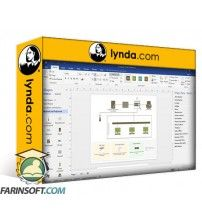 دانلود آموزش Lynda Advanced Visio: Working with Data