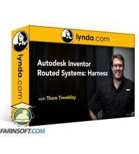آموزش Lynda Autodesk Inventor Routed Systems: Harness