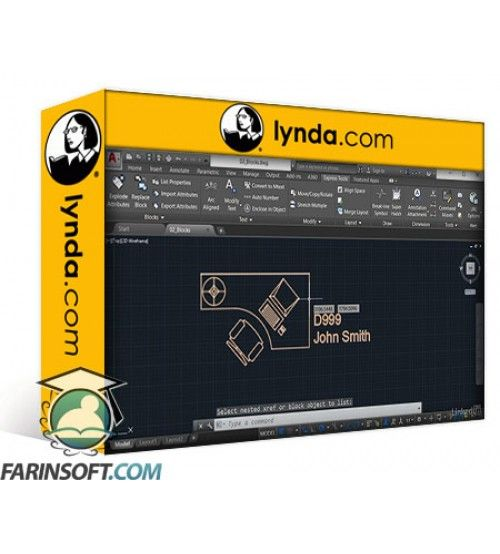 آموزش Lynda AutoCAD: Express Tools Workflow