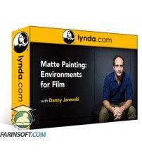 آموزش Lynda Matte Painting: Environments for Film