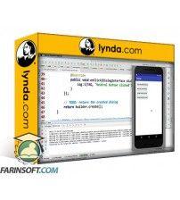 آموزش Lynda Android: Communicating with the User