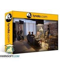 دانلود آموزش Lynda Cinematography 02: Working on Set