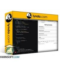 آموزش Lynda Learning Full-Stack JavaScript Development: MongoDB Node and React
