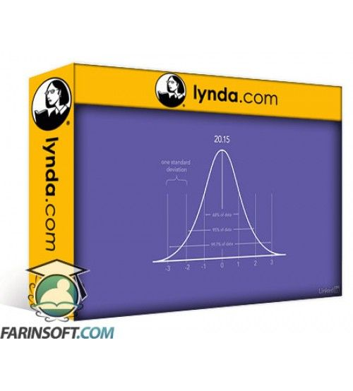آموزش Lynda Statistics Fundamentals - Part 2: Intermediate