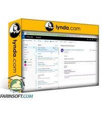 آموزش Lynda Outlook on the web Essential Training