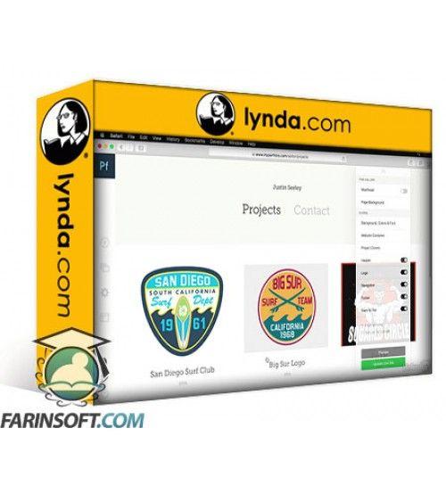 آموزش Lynda Adobe Portfolio First Look