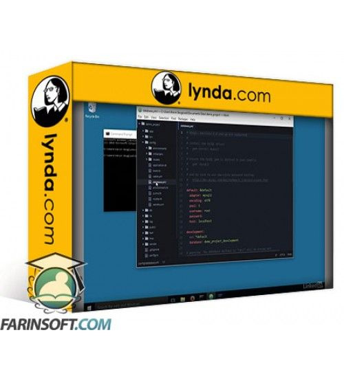 آموزش Lynda Installing and Running Ruby on Rails 5: Windows