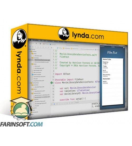 آموزش Lynda iOS Test-Driven Development Fundamentals