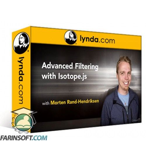 آموزش Lynda Advanced Filtering with Isotope.js