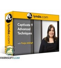 آموزش Lynda Captivate 9 Advanced Techniques