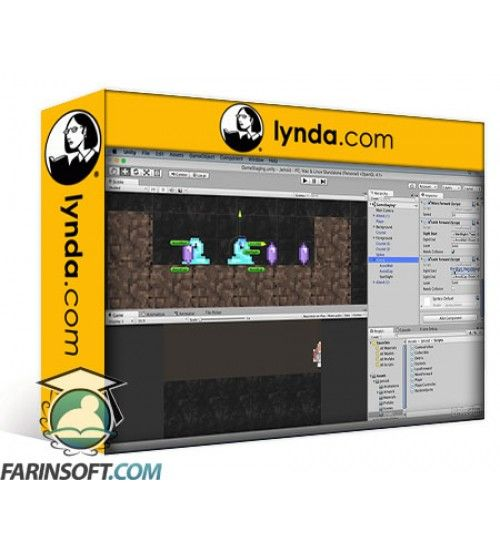 آموزش Lynda Unity 5 2D: Building an Adventure Game