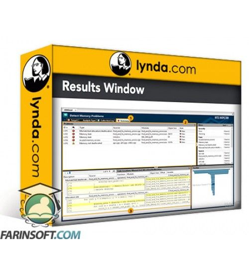آموزش Lynda Windows Performance Tools: Memory Leak Analysis with Intel Inspector