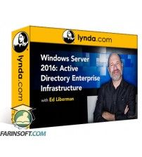 آموزش Lynda Windows Server 2016: Active Directory Enterprise Infrastructure
